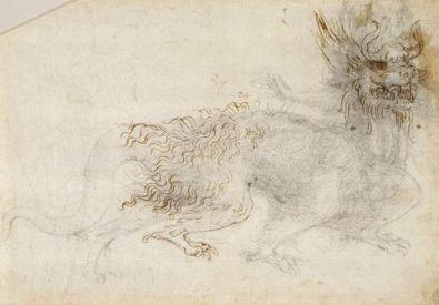 Universal Leonardo: Leonardo da Vinci online › Study of a dragon
