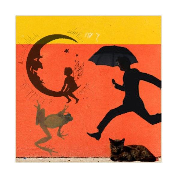 Cat Frog Umbrella Man Celestial Fairy